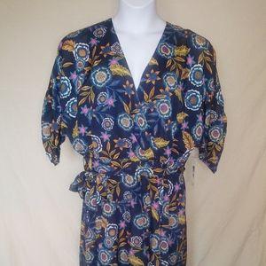 Eliza J Dresses - Eliza J floral wrap dress size 16
